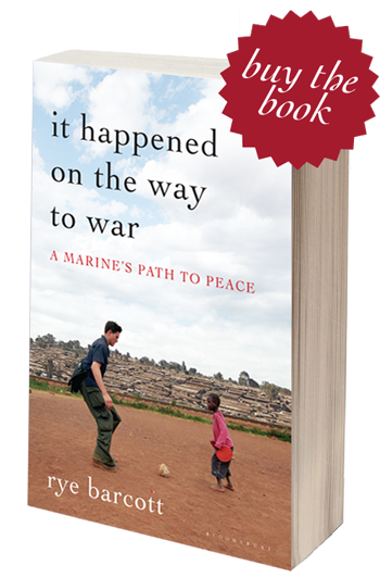 It Happened on the Way to War - Image of Book Cover